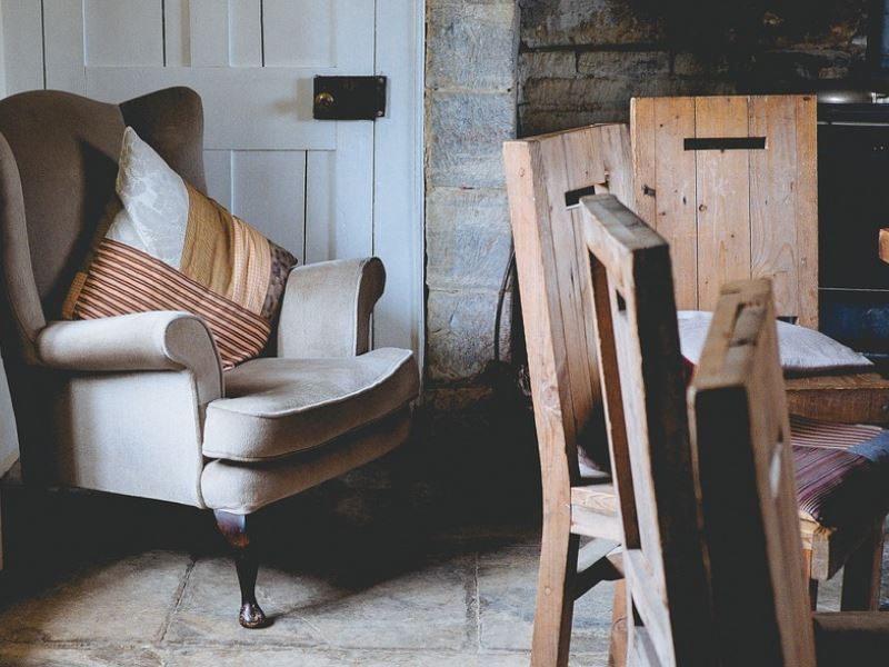 Cómo combinar muebles antiguos y modernos